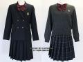 埼玉栄高校の制服(冬)