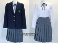 三鷹市立第一中学校の制服(冬)