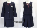 吉見町立吉見中学校の制服(冬)