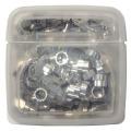 【新品】[Web Shop ゆとり PB商品] F型接栓(5C用) 1ケース50個入 FP-5A-50C