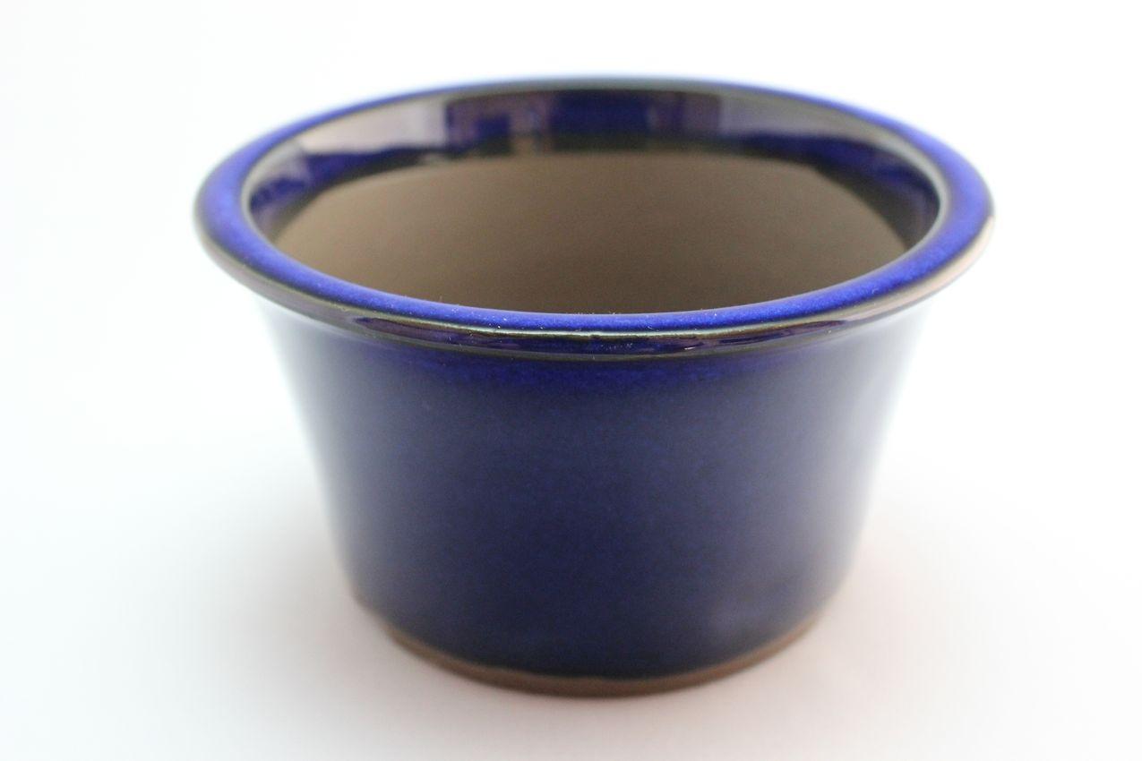ウデ中深そり生子,5号,萬古焼,植木鉢,盆栽鉢