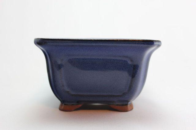 正方外縁額入,生子,4号,中国鉢,植木鉢