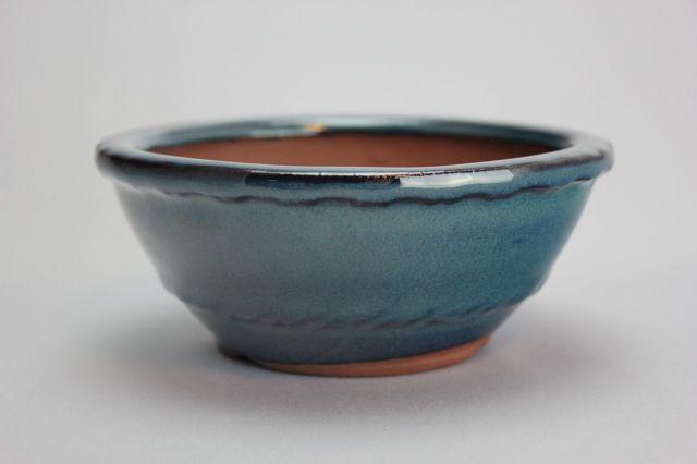 丸縄縁中帯,生子,4号,中国鉢,植木鉢
