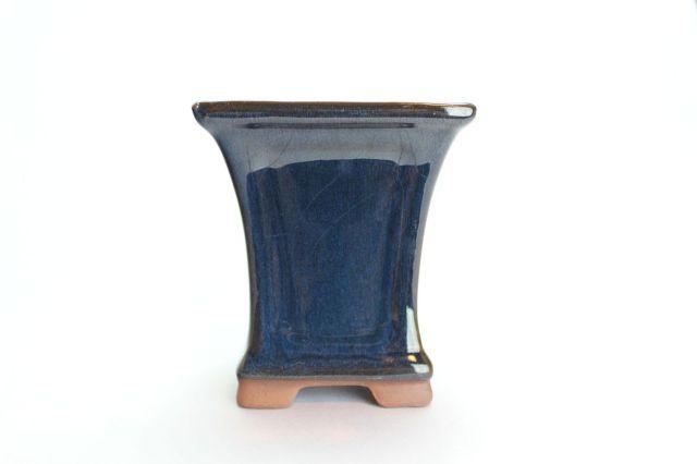 正方反型額入,生子,3.5号,中国鉢,植木鉢
