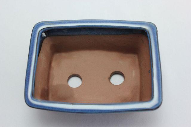 長方反方切足,生子,5号,中国鉢,植木鉢