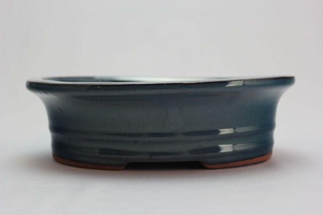 楕円外縁中下帯,生子,7号,中国鉢,植木鉢