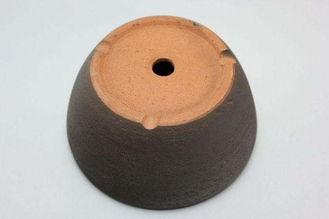 南蛮(深),黒吹,5号,中国鉢,植木鉢