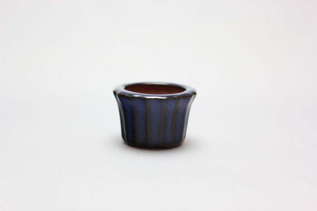 輪花下帯,生子,豆鉢,中国鉢,植木鉢