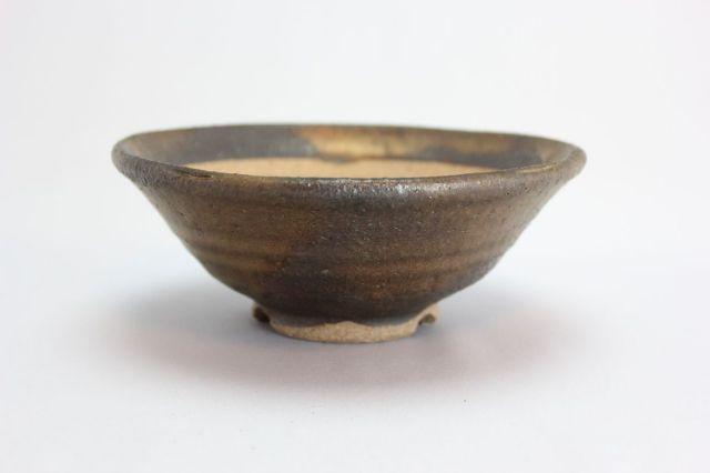 文五郎,金彩浅丸,5号,信楽焼,植木鉢