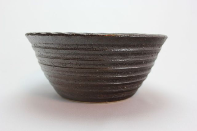 コゲ千段寄植鉢,6号,信楽焼,植木鉢,盆栽鉢