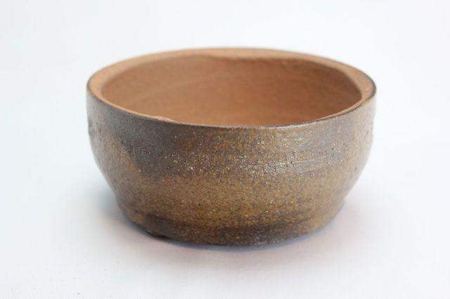 文五郎,古風,6号,信楽焼,植木鉢