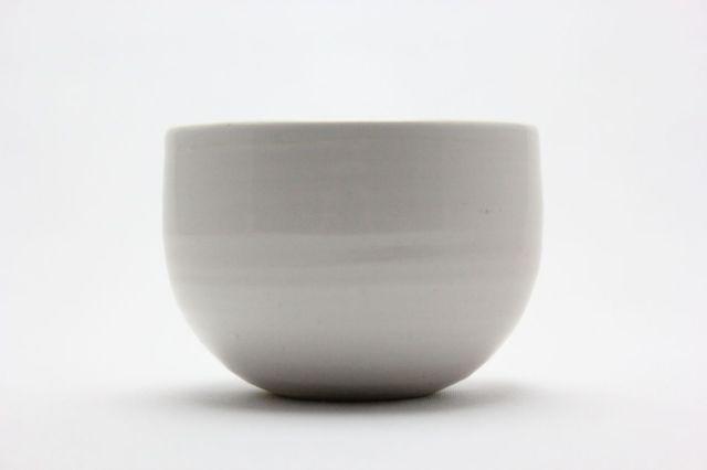 益造作,白碗型,4号,信楽焼,植木鉢