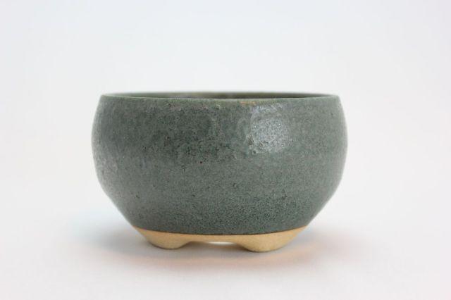 青銅鉄鉢丸,4.5号,信楽焼,植木鉢,盆栽鉢
