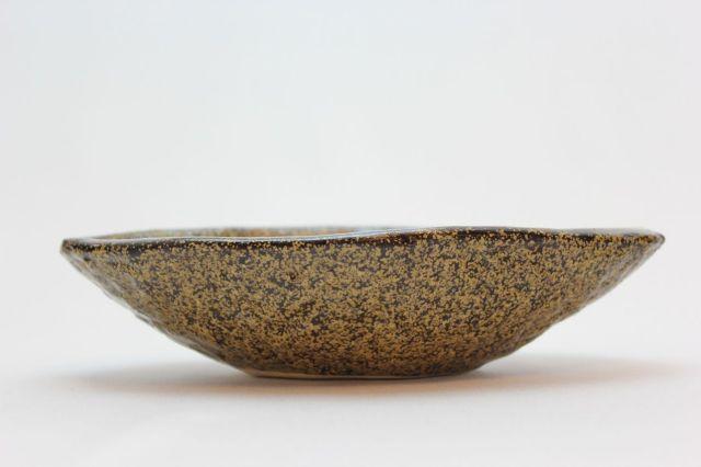 金そば船型,5号,信楽焼,植木鉢,盆栽鉢