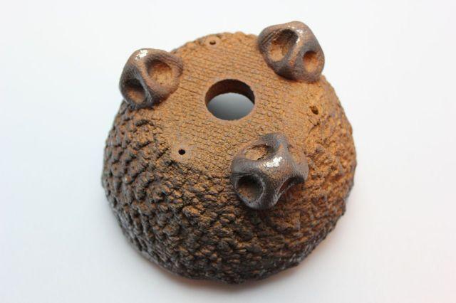 鉄鉢中深茶黒,5号,信楽焼,植木鉢,盆栽鉢