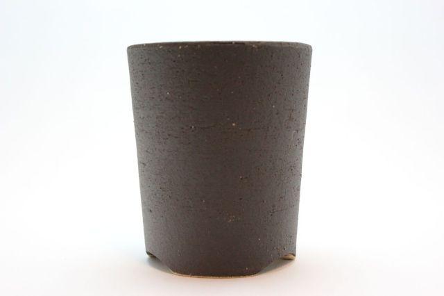 深切立黒色,4号,信楽焼,植木鉢,盆栽鉢