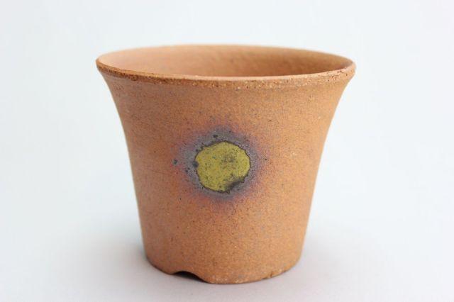 吹そり,3.5号,信楽焼,植木鉢,盆栽鉢