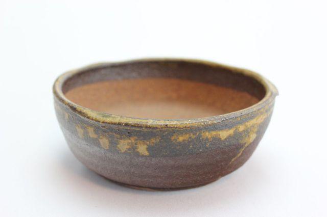 万作,鉄イラボ浅丸,5号,信楽焼,植木鉢