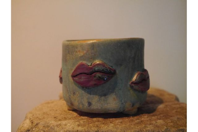 Koyomi作,Lip,3号,ミニ盆栽,植木鉢