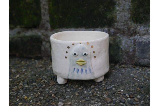 Koyomi作,とりさん,3号,ミニ盆栽,植木鉢