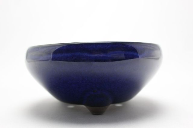 生子丸鉄鉢,5号,瀬戸焼,植木鉢,盆栽鉢