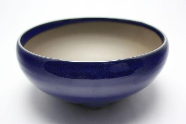 生子丸鉄鉢,6号,瀬戸焼,植木鉢,盆栽鉢