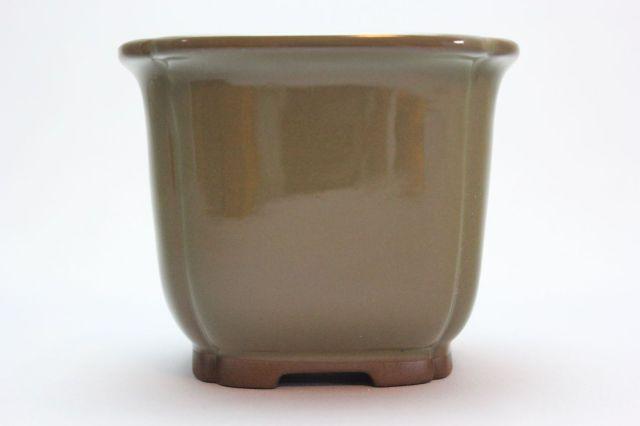 正方隅入,ソバ,3.5号,瀬戸焼,植木鉢