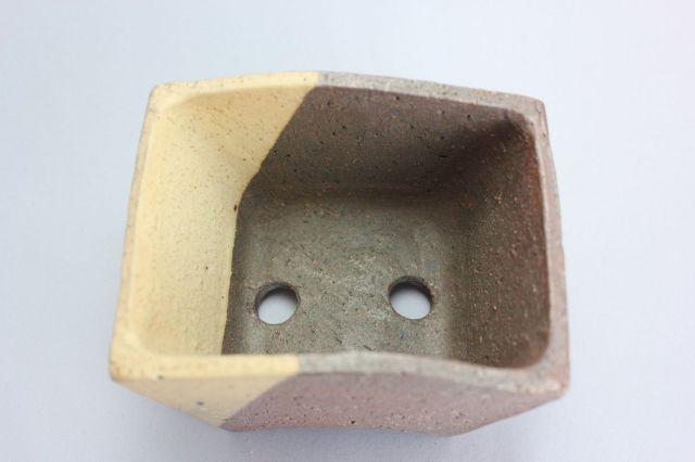 誠山,立扇鉢,3号,常滑焼,植木鉢