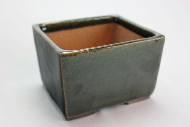 誠山,長角切立,3.5号,常滑焼,植木鉢