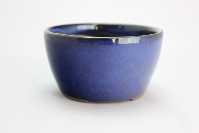 丸切立生子,3号,萬古焼,植木鉢,盆栽鉢