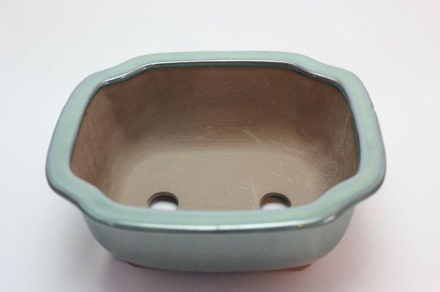 モッコ,織部,6号,萬古焼,植木鉢