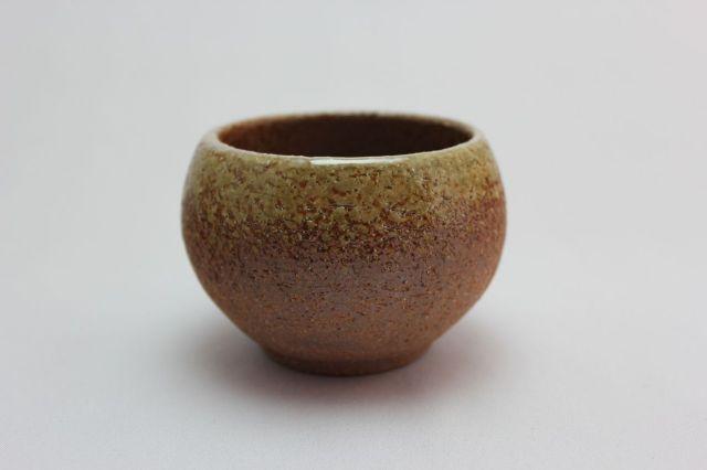 丸球鉢,茶吹,2.5号,萬古焼,植木鉢