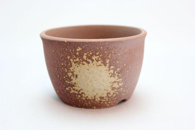 丸切立山草鉢,吹,3.5号,萬古焼,植木鉢