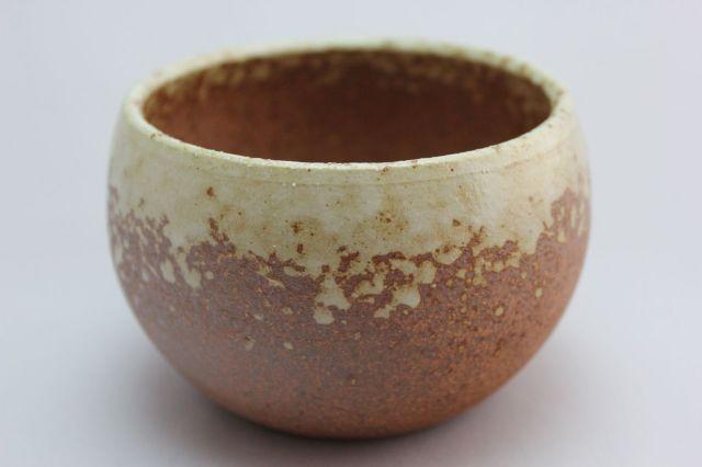 丸球鉢,茶吹,3号,萬古焼,植木鉢