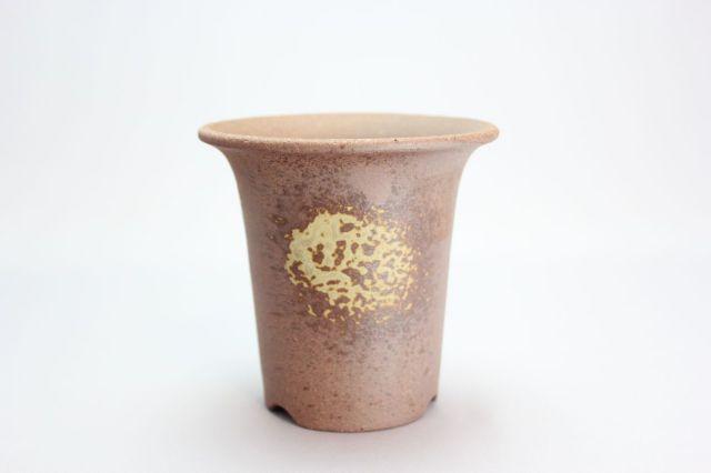 丸ラン鉢(ウチョウラン),3.5号,萬古焼,植木鉢,盆栽鉢