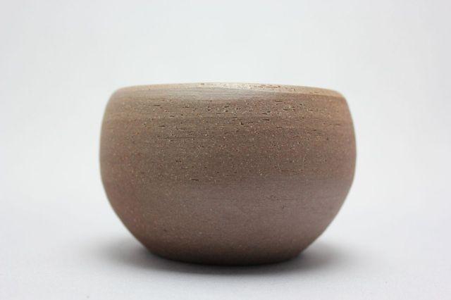丸球鉢,梨地,3号,萬古焼,植木鉢