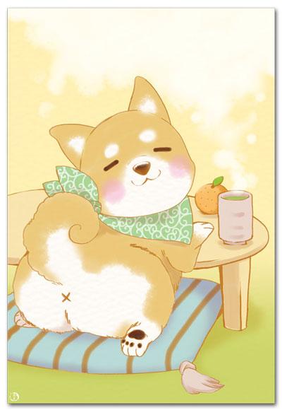 みかん子犬