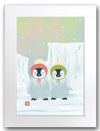ペンギン白