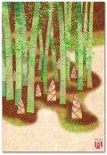 竹林とたけのこ