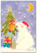 クリスマス・白クマ