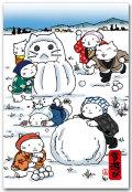 雪だるま遊び