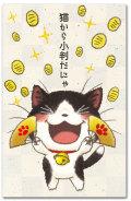 猫から小判