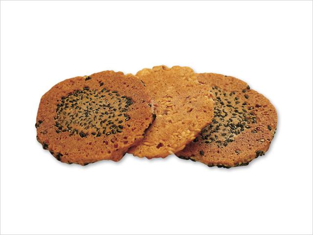 和菓子お取り寄せ「三松堂」 胡麻煎餅