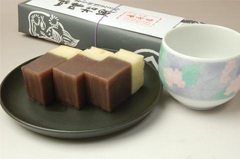当店ロングセラー「味噌松風1棹包み」家庭画報掲載商品