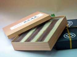 【お歳暮】大切な方へ!ロングセラー「味噌松風3棹本箱入り」家庭画報掲載商品