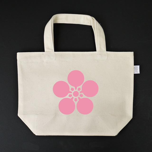 戦国武将家紋ミニトートバッグ「前田慶次」