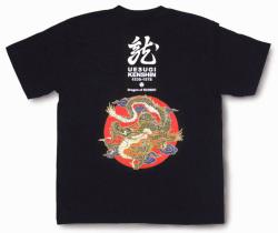 戦国武将Tシャツ・上杉謙信「龍」2_1