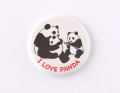 【缶バッジ】I LOVE PANDA