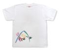 友禅模様の華柄イラストTシャツ「蘭」商品画像
