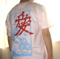 戦国武将Tシャツ・直江兼続「愛」2-商品画像